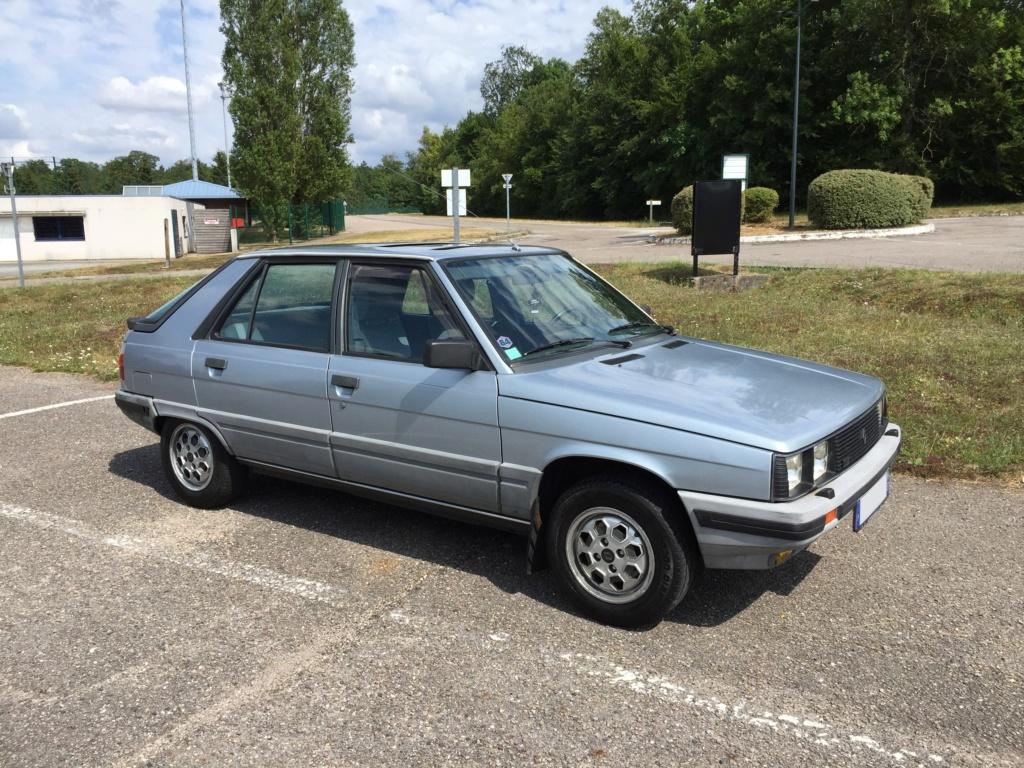 Renault 11 TSE Allemande bleu Baltique 490 Img_4118