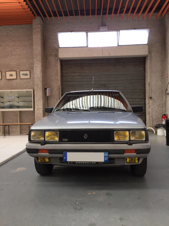 Renault 11 TSE Allemande bleu Baltique 490 Img_4120