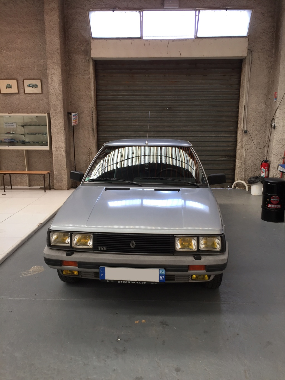 Renault 11 TSE Allemande bleu Baltique 490 Img_4121