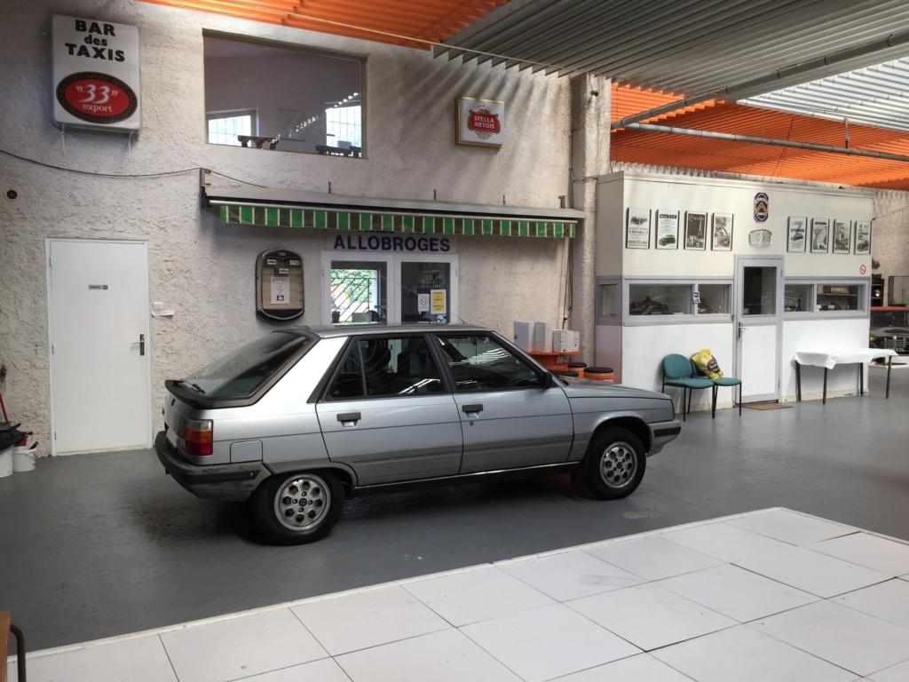 Renault 11 TSE Allemande bleu Baltique 490 Img_4122