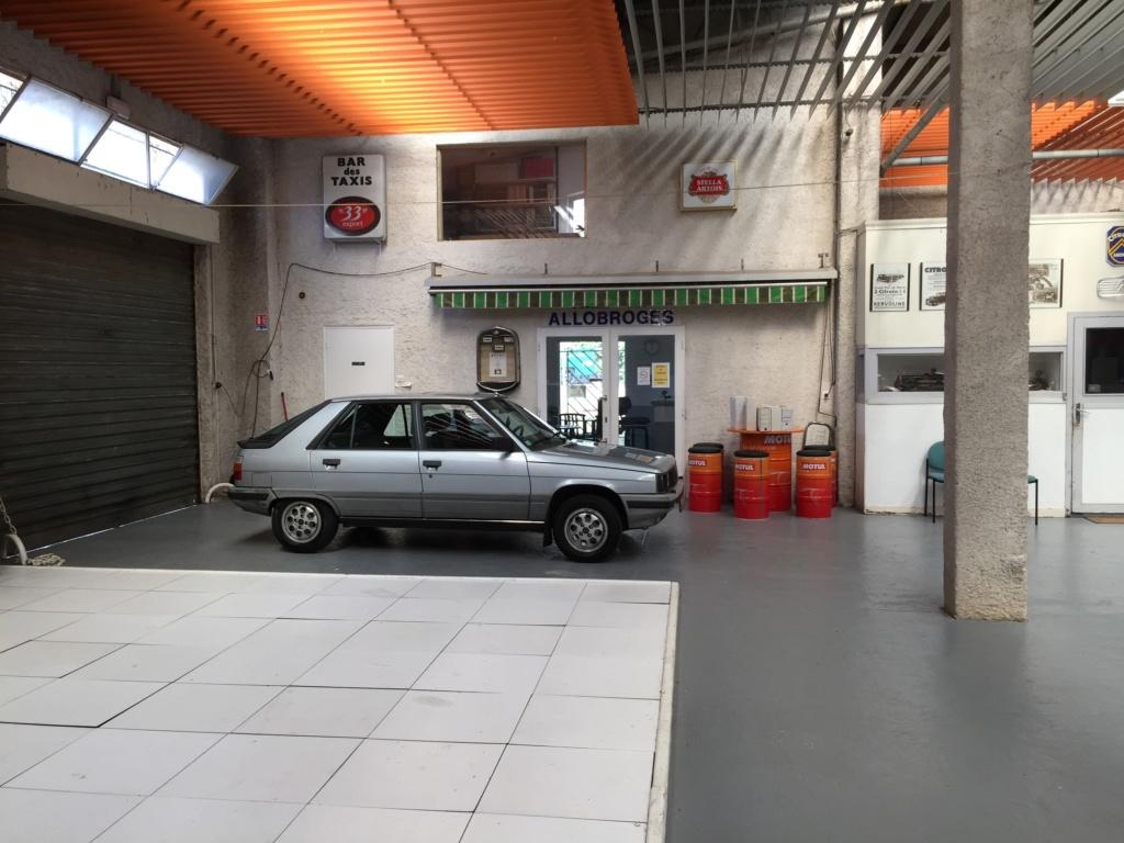 Renault 11 TSE Allemande bleu Baltique 490 Img_4123