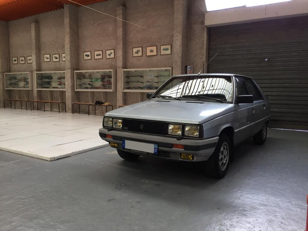 Renault 11 TSE Allemande bleu Baltique 490 Img_4128
