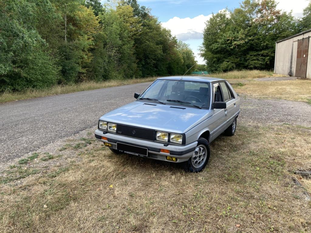 Renault 11 TSE Allemande bleu Baltique 490 Img_7615