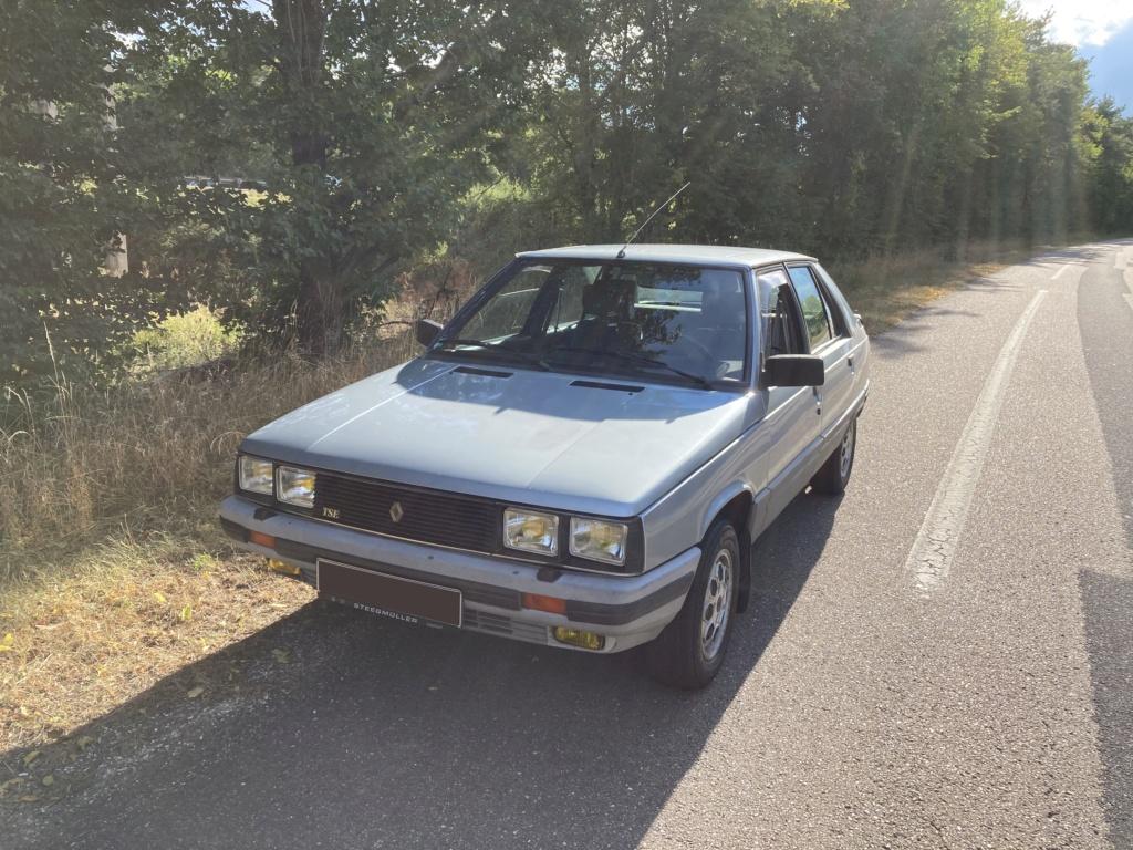 Renault 11 TSE Allemande bleu Baltique 490 Img_7620