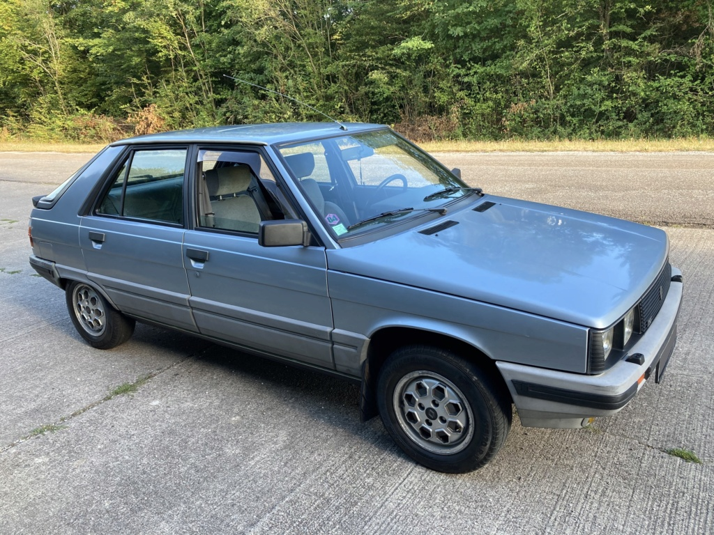 Renault 11 TSE Allemande bleu Baltique 490 Img_7623
