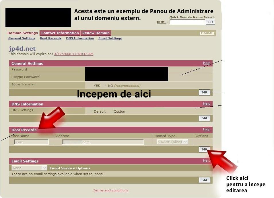 [CNAME]Redirecţionare domeniu extern către forumul dvs. Forumgratuit Image_11
