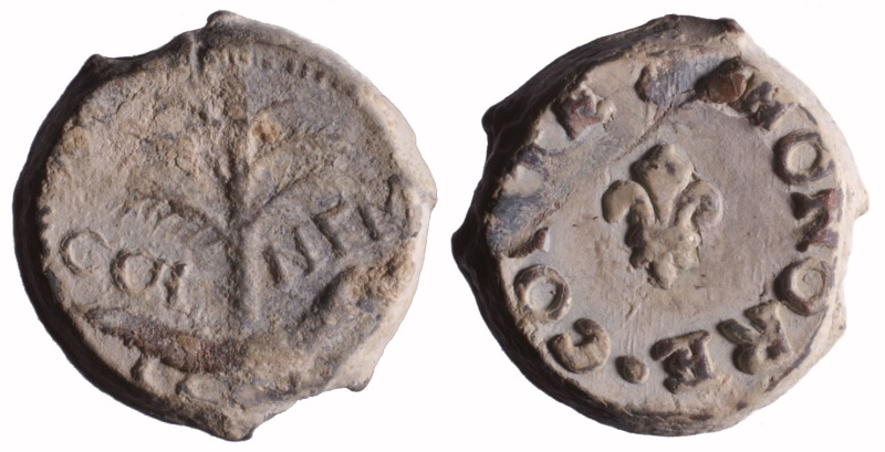Les plombs de soyeux de Nîmes. D164210