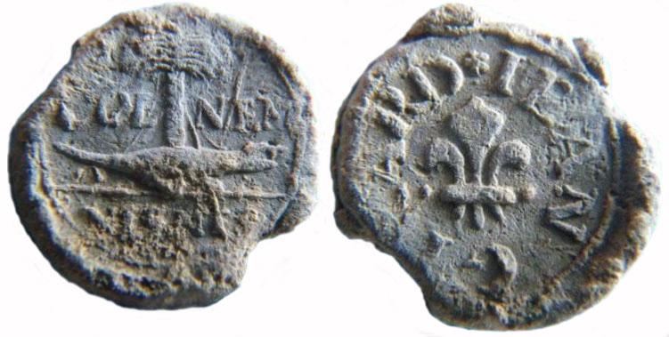 Les plombs de soyeux de Nîmes. For11010