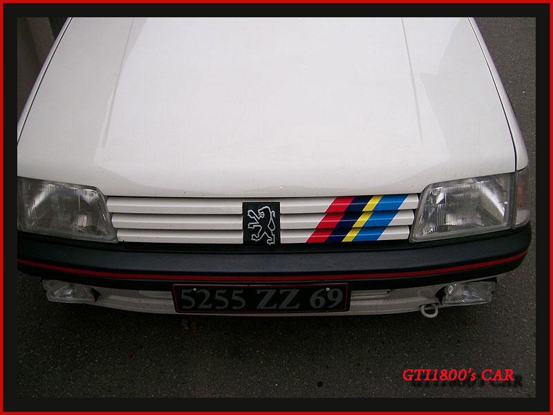 [GTI1800] 205 GTI 1L9 Blanc Meije AM88  - Page 2 100_3510