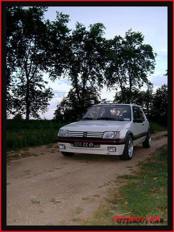 [GTI1800] 205 GTI 1L9 Blanc Meije AM88  147810