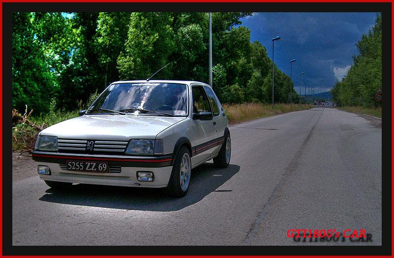 [GTI1800] 205 GTI 1L9 Blanc Meije AM88  4410