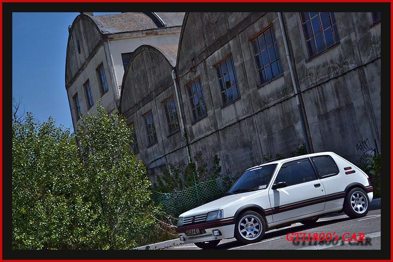[GTI1800] 205 GTI 1L9 Blanc Meije AM88  Dsc_0012