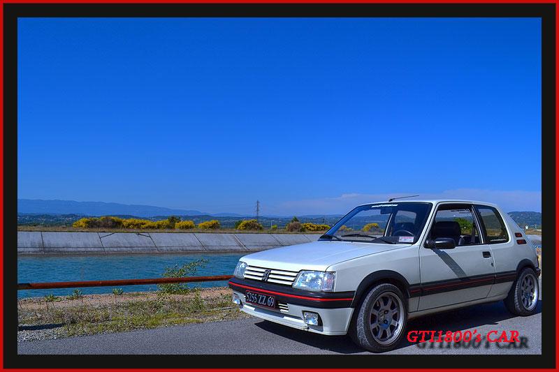 [GTI1800] 205 GTI 1L9 Blanc Meije AM88  Dsc_0214