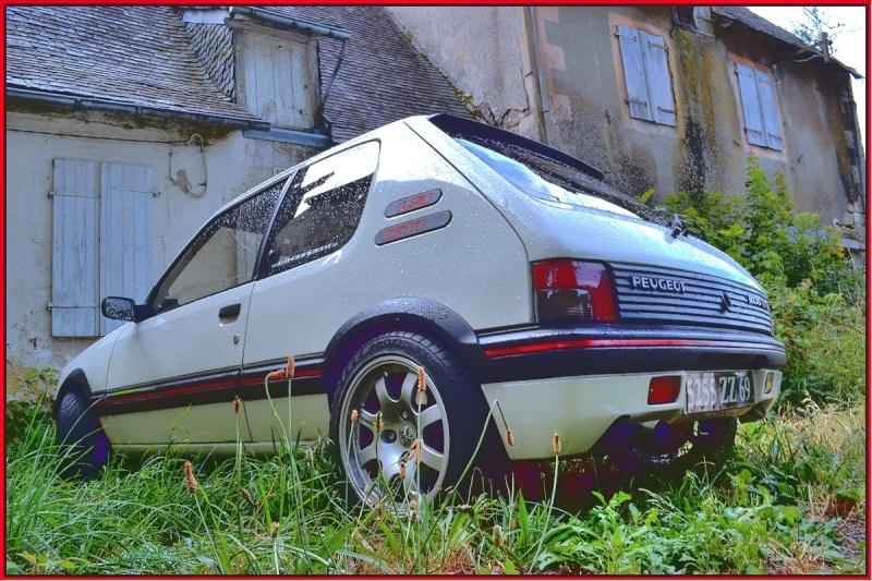 [GTI1800] 205 GTI 1L9 Blanc Meije AM88  Top13710