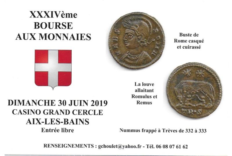 34ème BOURSE AUX MONNAIES D'AIX-LES-BAINS 30 JUIN 2019 Carte_12