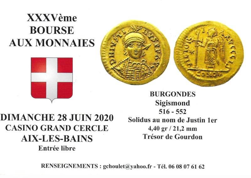 35ème BOURSE AUX MONNAIES D'AIX-LES-BAINS 28 JUIN 2020 Carte_14