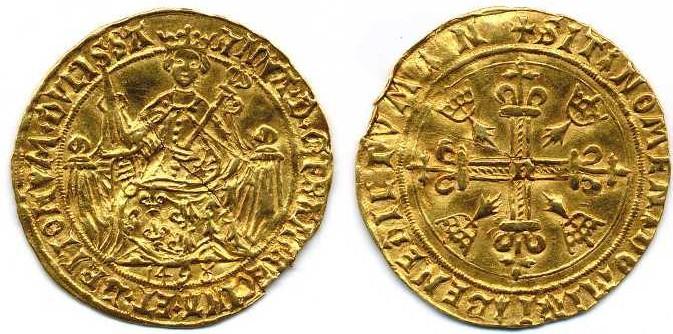 depuis quand la date est inscrite sur les monnaies Cadier10