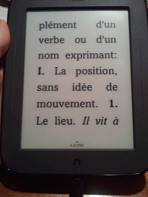 Help pour une élève: recherche dictionnaire français pour une liseuse Photo020