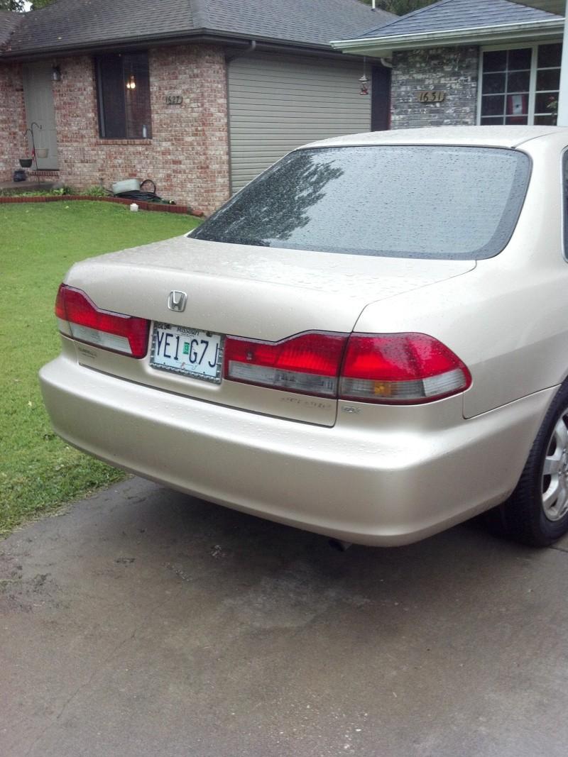 2001 Honda Accord temporary project Honda_11