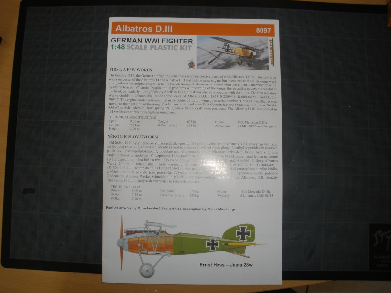 Albatros D.III 1/48 Eduard P9170120