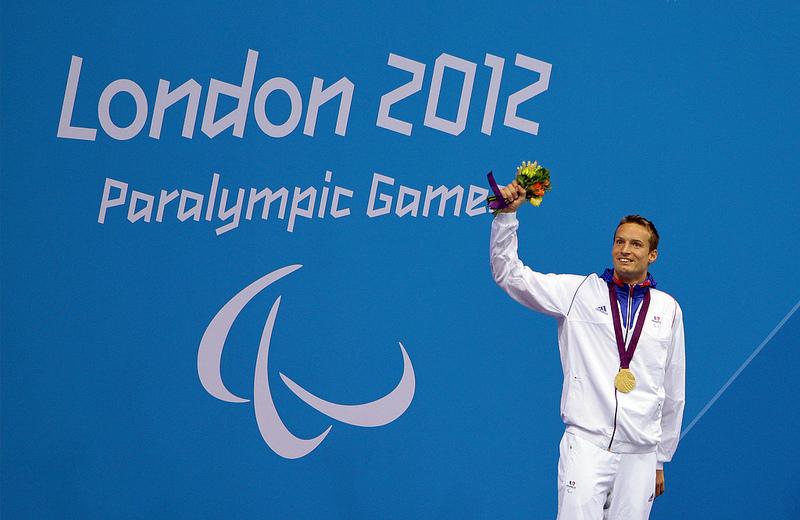 Londres 2012 - Jeux Paralympiques - Charles Rozoy (100m Papillon) en Or Rozoy-10