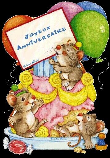 joyeux anniversaire aux deux pattes du mois d'octobre 2012 Animat11