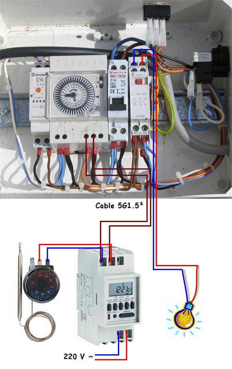 Changement électrique escatop Coffre13
