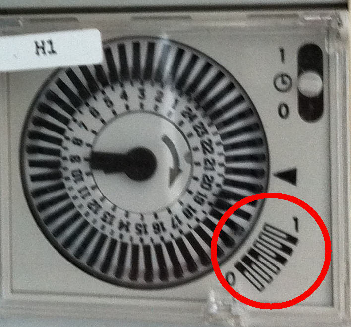 Notice de fonctionnement programmateur Horlog10