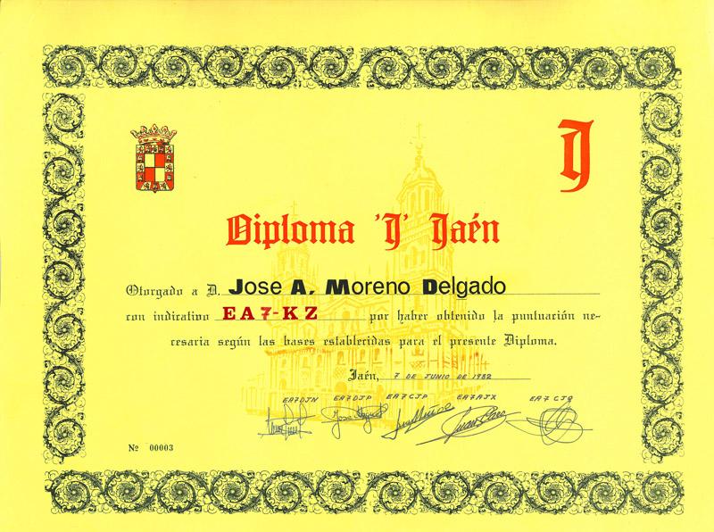 ACTIVIDADES EN JAÉN - AÑOS 80 Diplom11