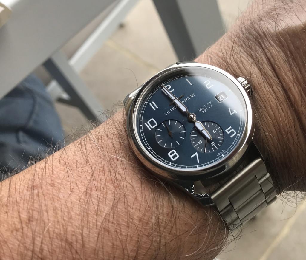ULTRAMARINE Morse 9141B - Conçue pour ceux qui aiment les vraies montres (tome2) 3f63b510