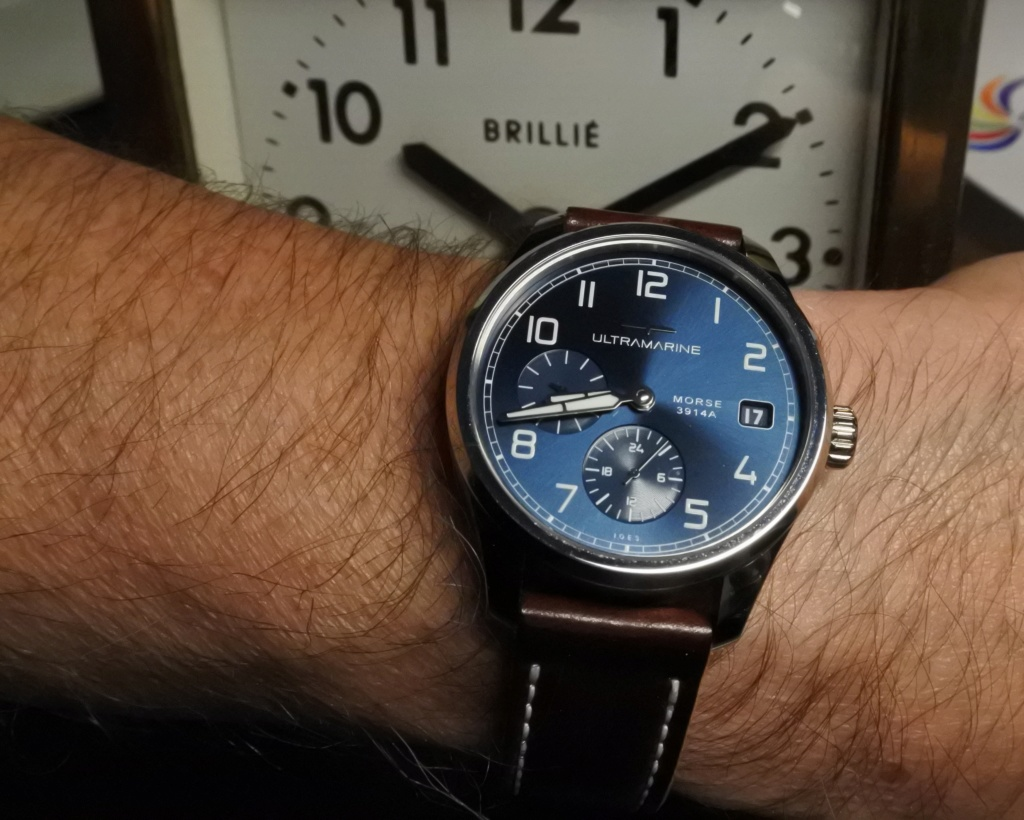 ULTRAMARINE Morse 9141B - Conçue pour ceux qui aiment les vraies montres - Page 9 Dsc_2416