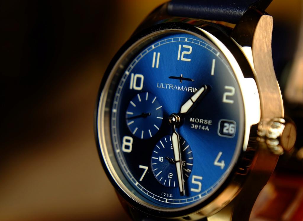 ULTRAMARINE Morse 9141B - Conçue pour ceux qui aiment les vraies montres Dscf9817