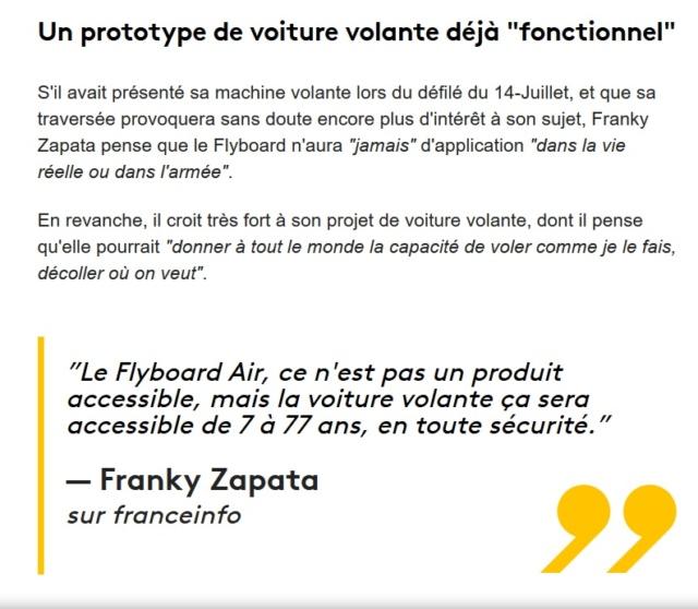 ZENITH - Franky Zapata 110 ans après Blériot traversera la Manche en Flyboard avec Zenith - Page 5 Zapata10