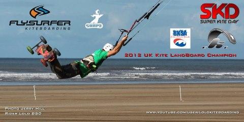 Laurent Guyot (Lolo BSD) Champion UK de kite landboarding Lolo_c10