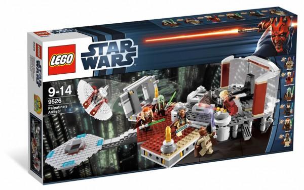 LEGO STAR WARS - 9526 - L'arrestation de Palpatine Lego-s10