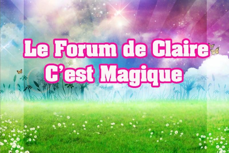 Pour le forum  Claire10