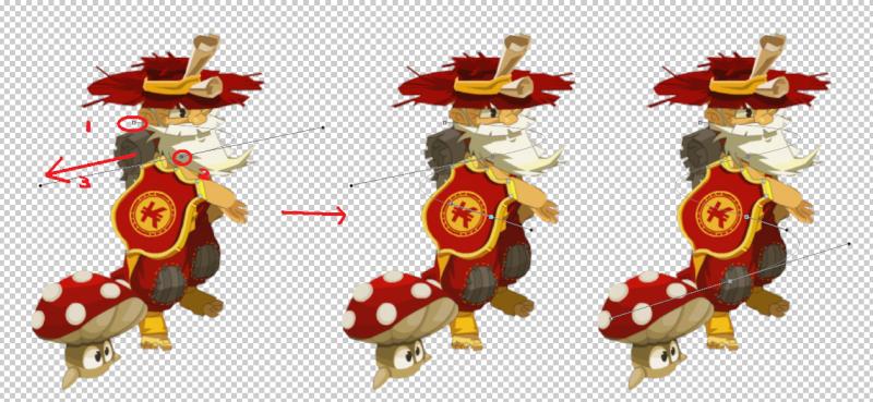 [Tuto Photoshop] Lasso lumineux autour du personnage Lasso10