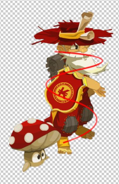 [Tuto Photoshop] Lasso lumineux autour du personnage Result11