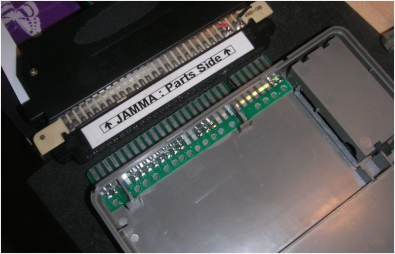 [Tuto] Nec Pc Engine To Jamma Stéréo Fente_10