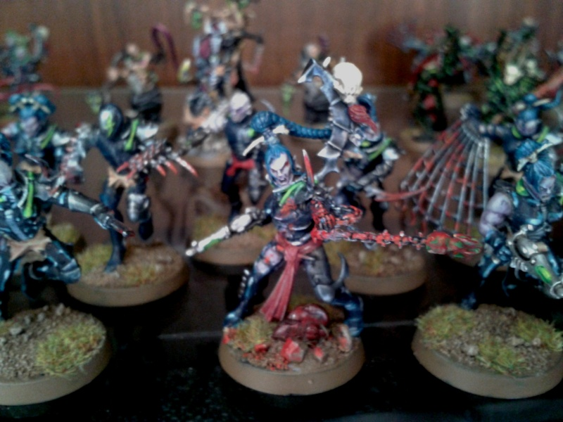 Eldur's Dark Eldar Army ---> NEW PICS, including CW Eldar (Ulthwé) Allies!! Brujas10
