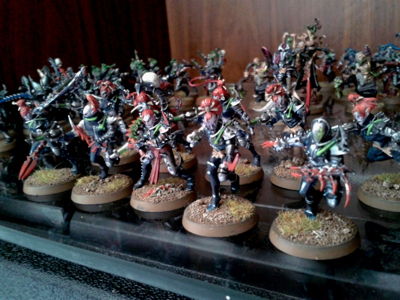Eldur's Dark Eldar Army ---> NEW PICS, including CW Eldar (Ulthwé) Allies!! Brujas12