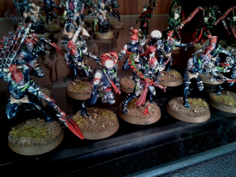 Eldur's Dark Eldar Army ---> NEW PICS, including CW Eldar (Ulthwé) Allies!! Brujas13
