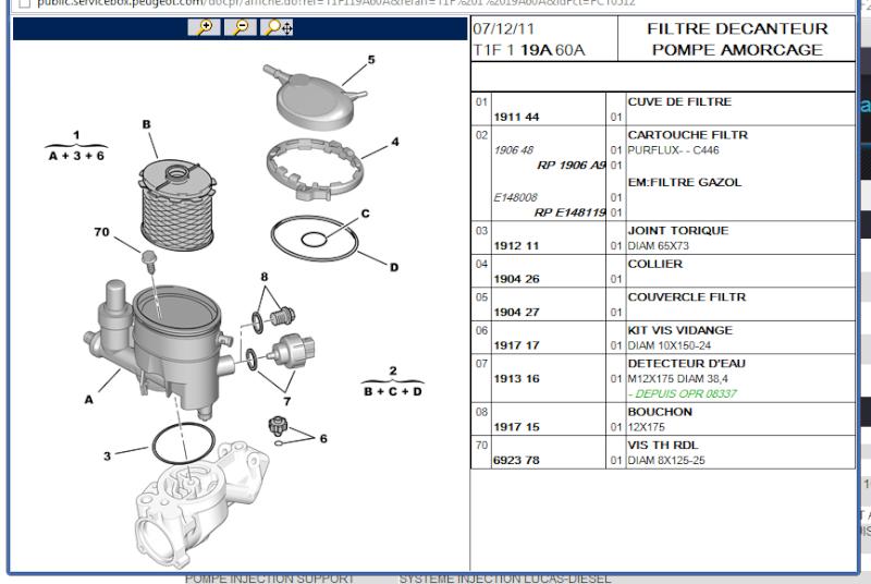 Problème de démarrage sur 206 1,9L diésel, moteur dw8 Pompe_10