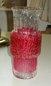 Textured glass vase - Scandinavian? Dscn0722
