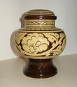 Slipware lidded & footed pot - Chinese pickling jar Dscn1428