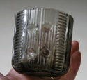 Grey glass tumbler Dscn7816