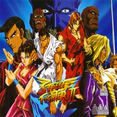 Street Fighter II V Street11