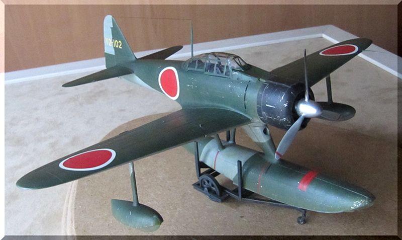 A6M2-N Rufe - Tamiya - 1/48ème 1210