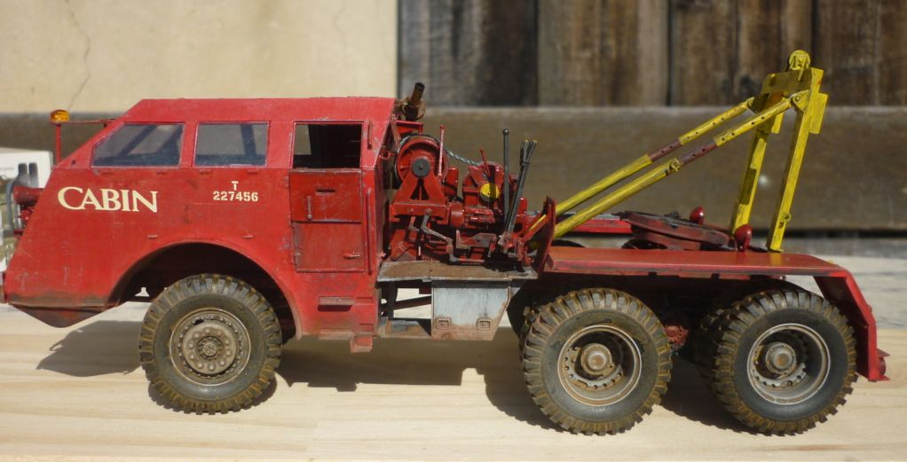 M26 dépanneuse civile - Tamiya - 1/35 P1110410