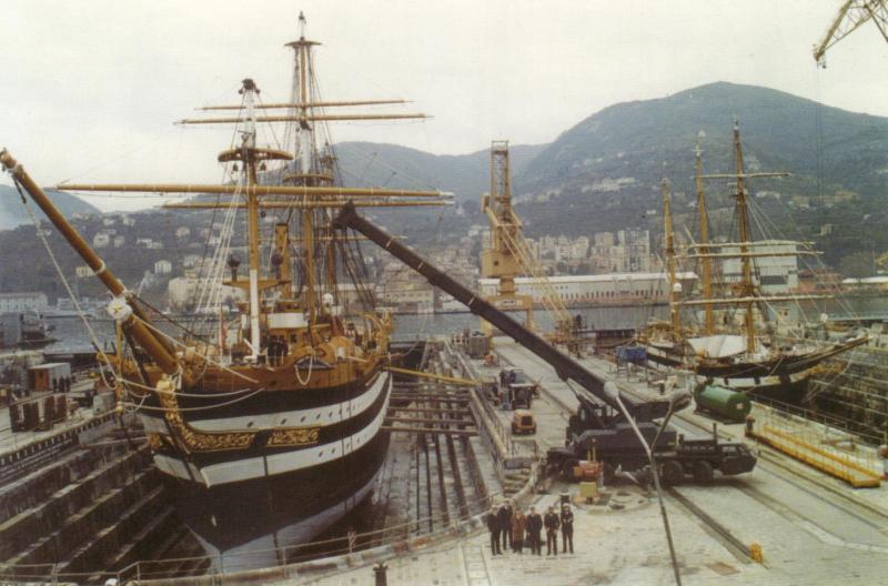 Il mio primo cantiere navale, Amerigo Vespucci, scala 1/100 DeA - Pagina 2 110